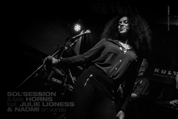 New Soul - Sol Session Band feat. Julie Lioness & Naomi Khimji, 2015
