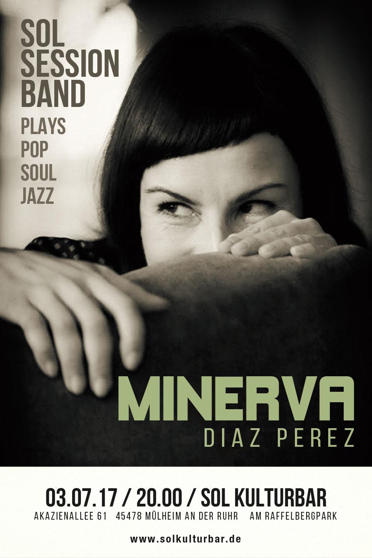 Sol Session Band feat. Minerva Diaz Perez - Juli 2017 www.solkulturbar.de