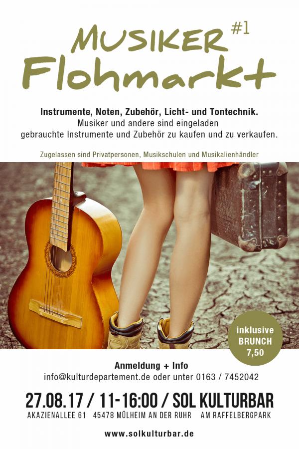 August 2017 - Musiker Flohmarkt in der Sol Kulturbar