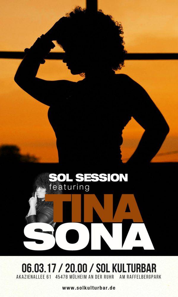 Sol Session feat Tina Sona, März 2017 in der Sol Kulturbar