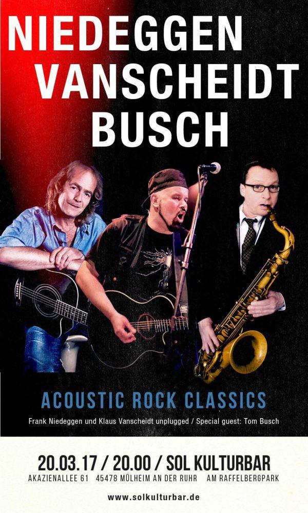 Niedeggen, Vanscheidt, Busch live in der Sol Kulturbar, 2017
