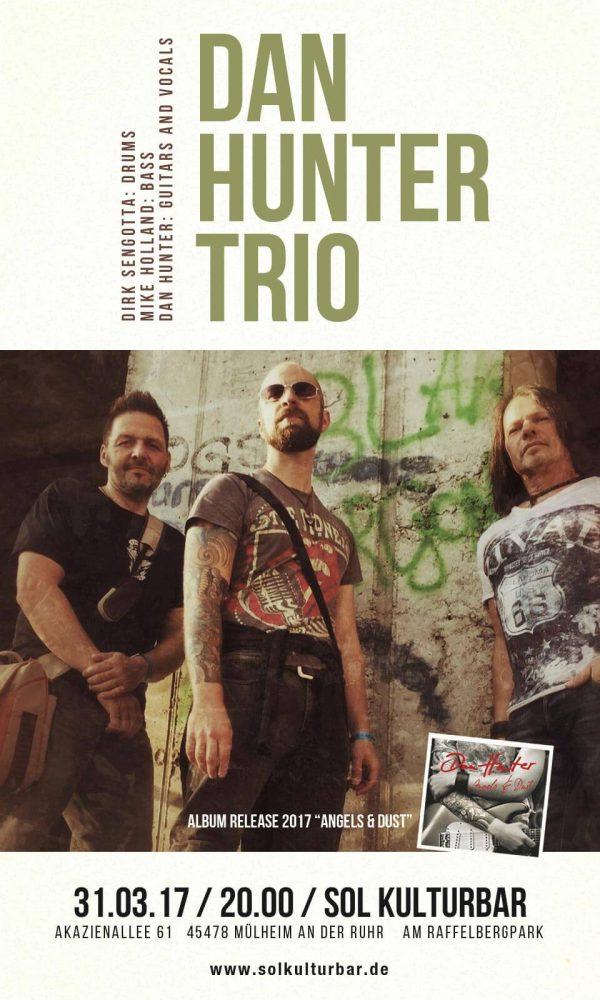 Dan Hunter Trio live in der Sol Kulturbar, März 2017
