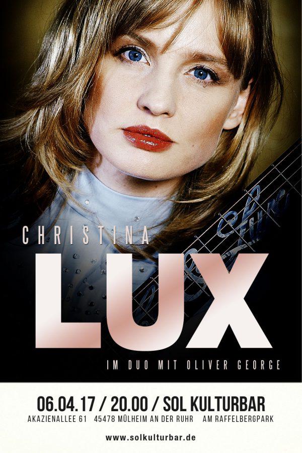 Christina Lux live in der Sol Kulturbar, 2017
