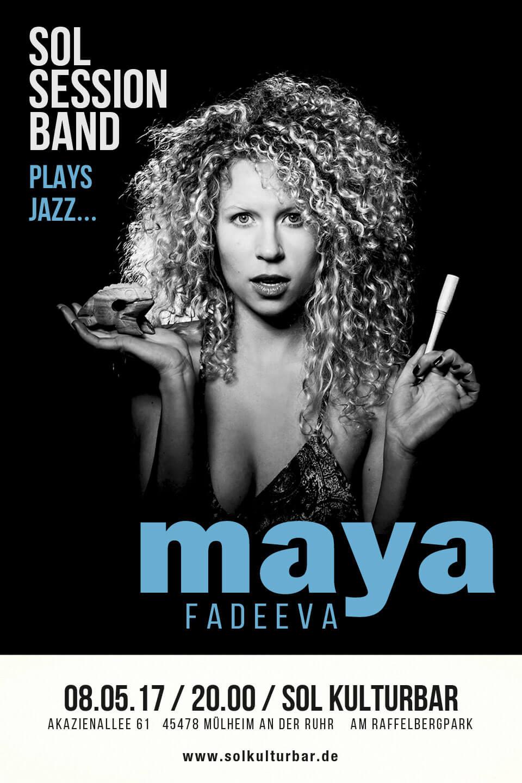 Sol Session feat. Maya Fedaeeva, Mai 2017