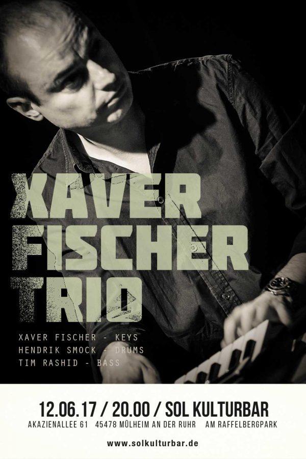 Juni 2017, Xaver Fischer Trio, www.solkulturbar.de