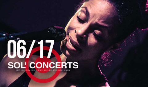 Juni 2017 Sol Concerts, Konzertprogramm www.solkulturbar.de
