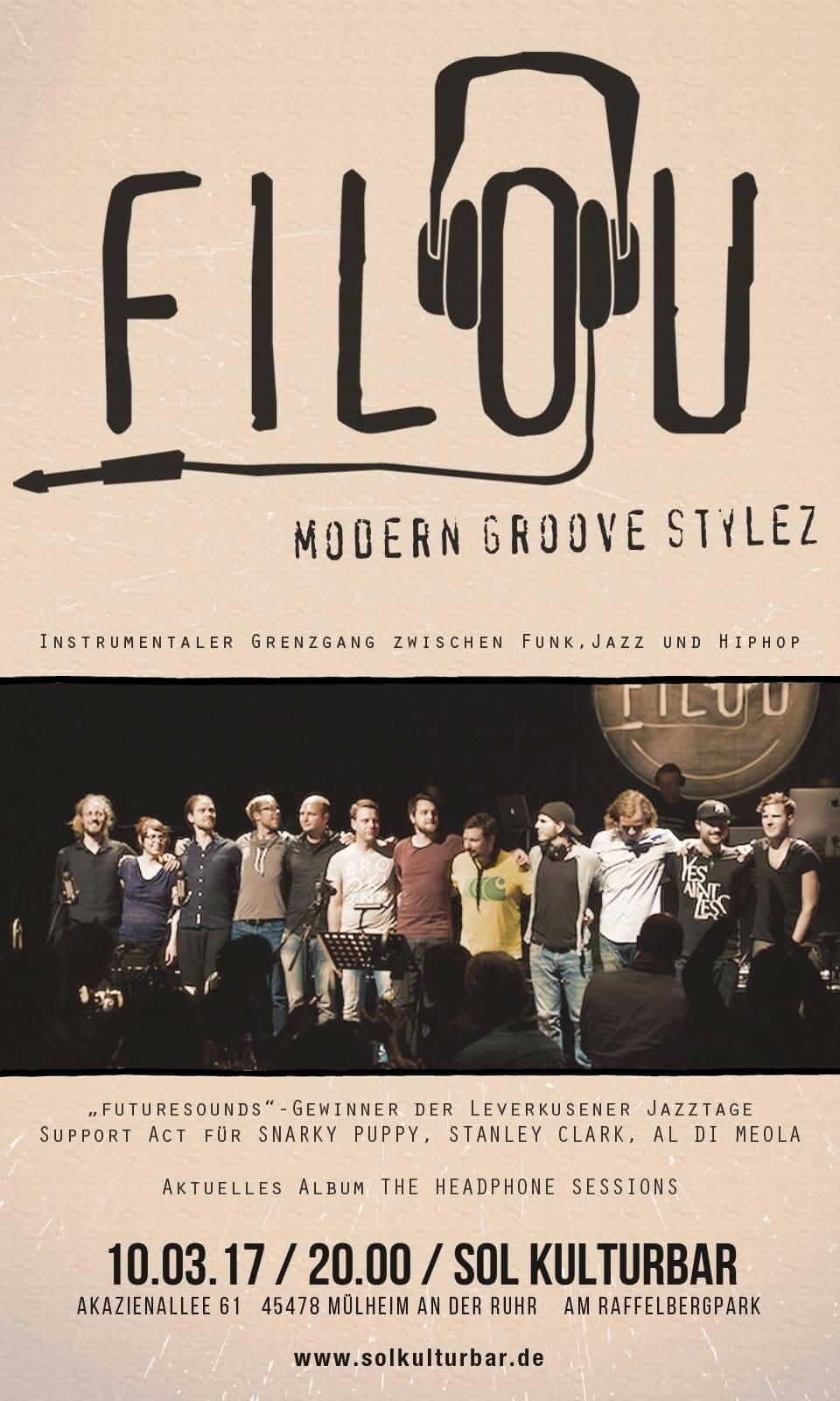 Filou live in der Sol Kulturbar, 2017