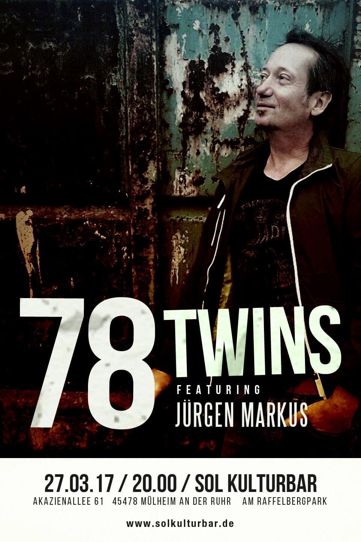 78 Twins feat. Jürgen Markus live, Sol Kulturbar , März 2017