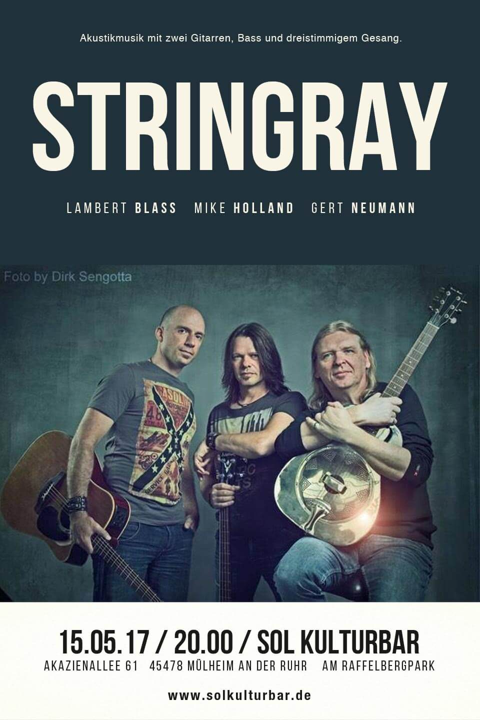 Stingray live in der Sol Kulturbar, Mai 2017