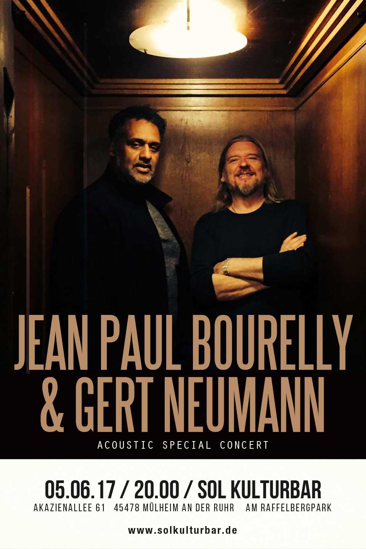 Juni 2017, Jean Paul Bourelly and Gert Neumann live @ Sol Kulturbar