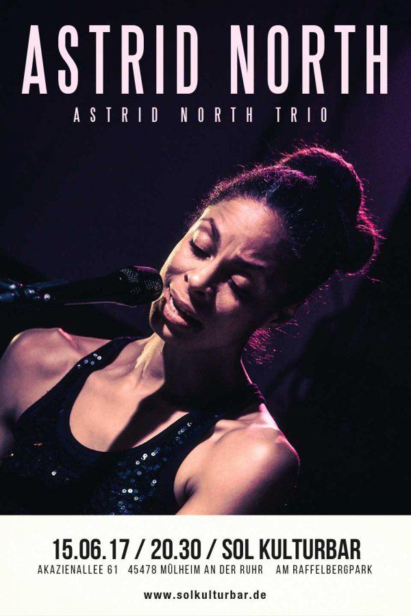 Juni 2017, Astrid North live @ www.solkulturbar.de