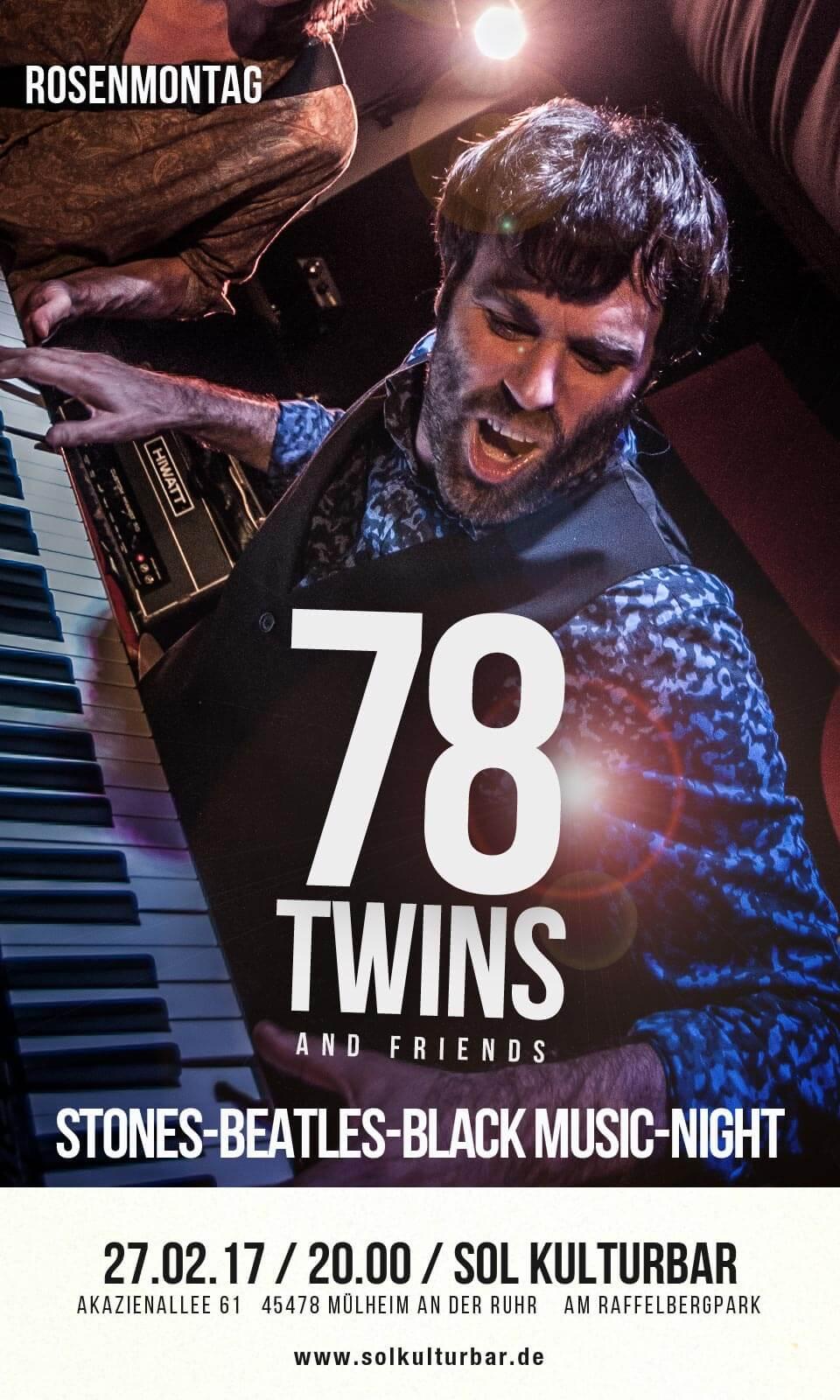 78 Twins live in der Sol Kulturbar, 2017