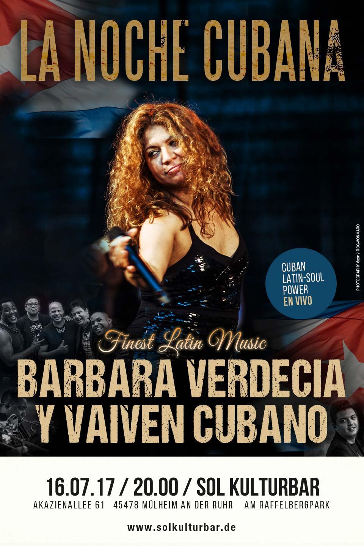Latin-Soul Power en vivo! www.solkulturbar.de