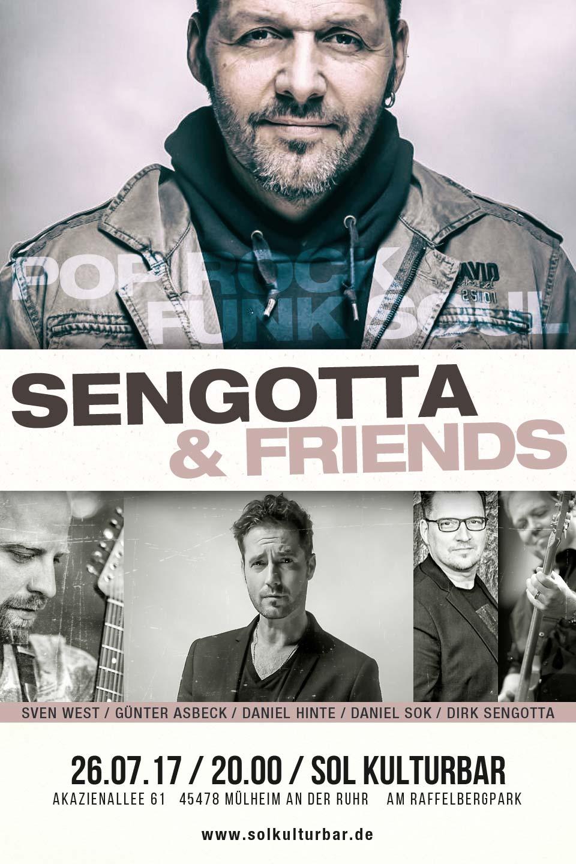 Juli 2017, DIRK SENGOTTA & FRIENDS live @ www.solkulturbar.de