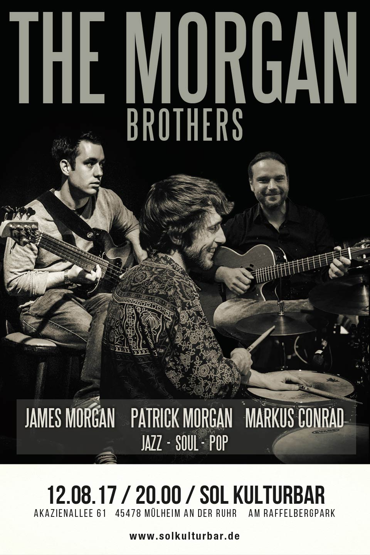 August 2017, Sol Kulturbar, The Morgan Brothers