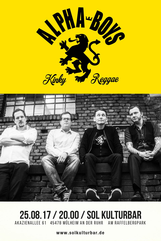 August 2017, Sol Kultur Bar, Alpha Boys live