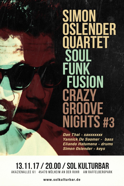 Simon Oslender Crazy Groove Nights #3