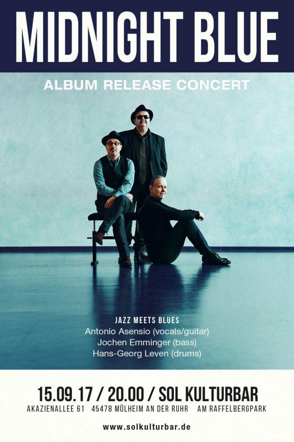 September 2017, Midnight Blue, CD Präsentation