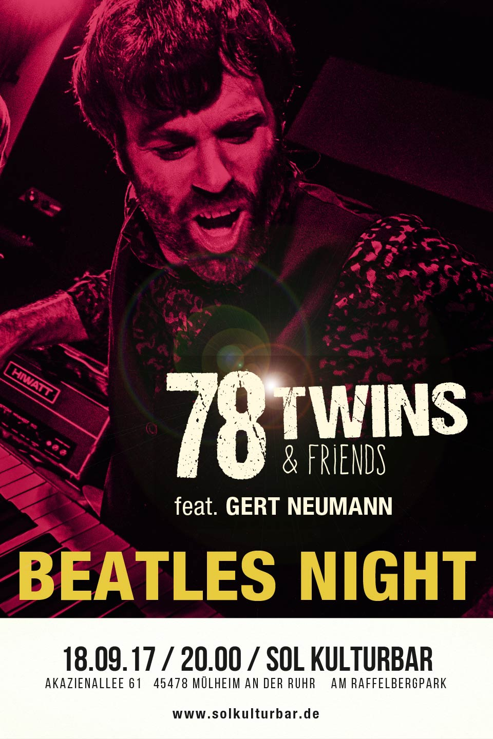 September 2017, 78 Twins & Friends feat. Gert Neumann