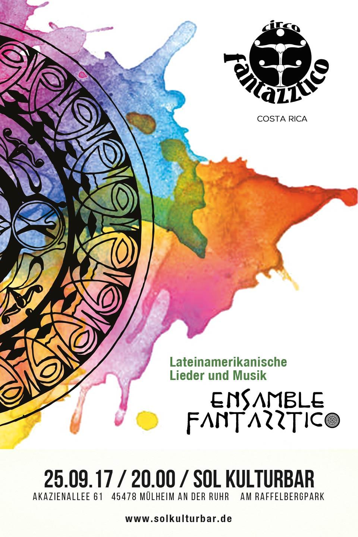 September 2017, Ensemble Fantazztico aus Costa Rica, www.solkulturbar.de