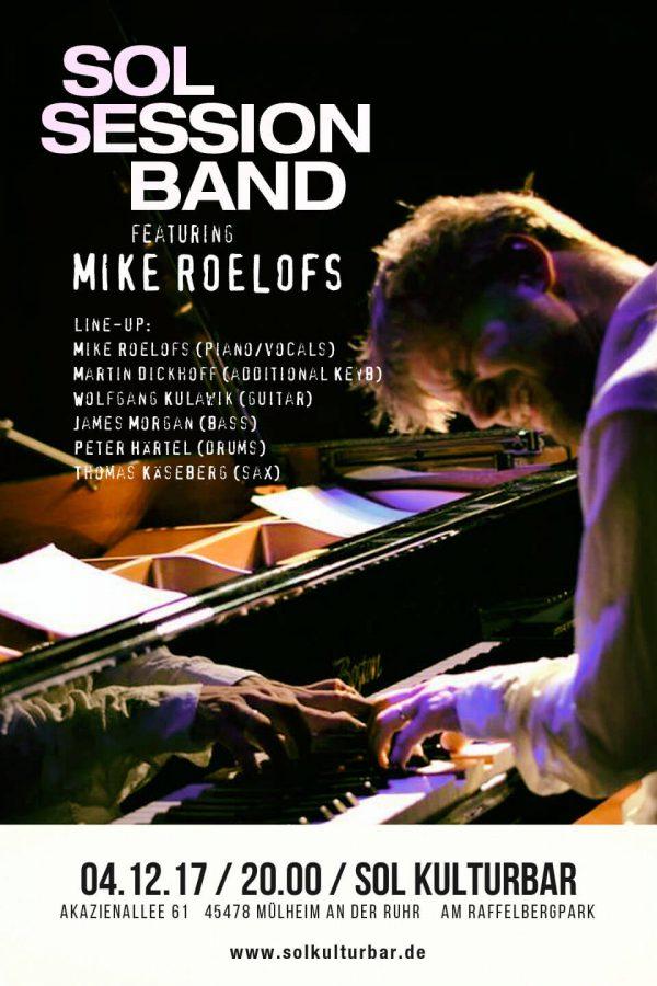 Dezember 2017, Sol Session feat. Mike Roelofs, www.solkulturbar.de