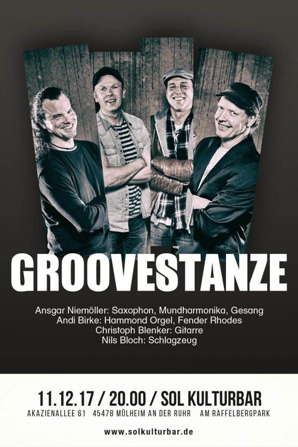 Dezember 2017, Groovestanze live, www.solkulturbar.de