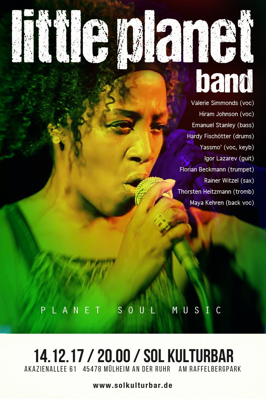 Dezember 2017, Little Planet Band, www.solkulturbar.de