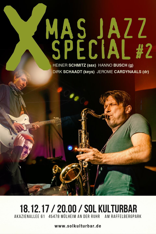 Dezember 2017,Xmas Jazz Special, www.solkulturbar.de