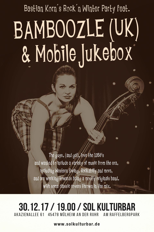 Dezember 2017, Bamboozle & Mobile Jukebox, www.solkulturbar.de