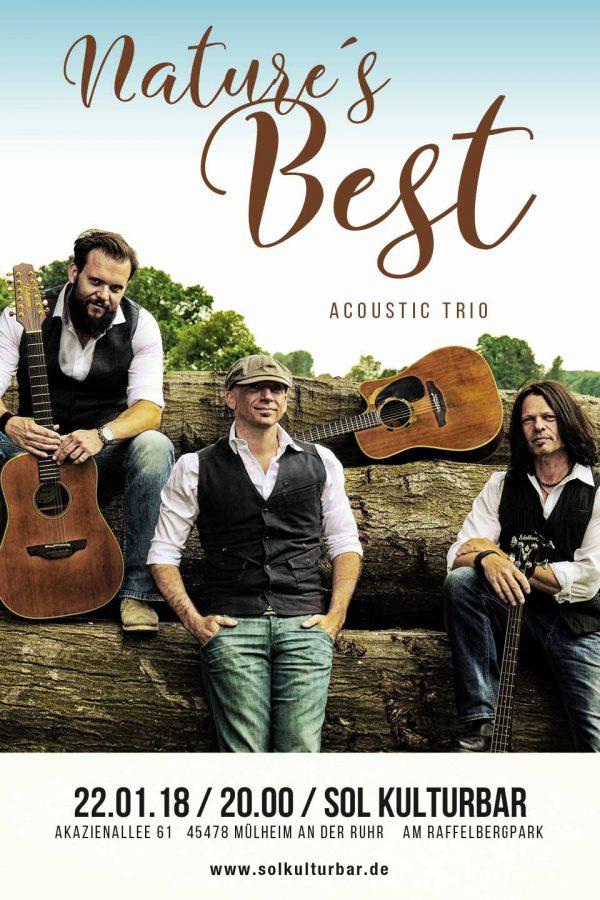 Januar 2018 - Sol Kulturbar - Plakat Nature´s Best
