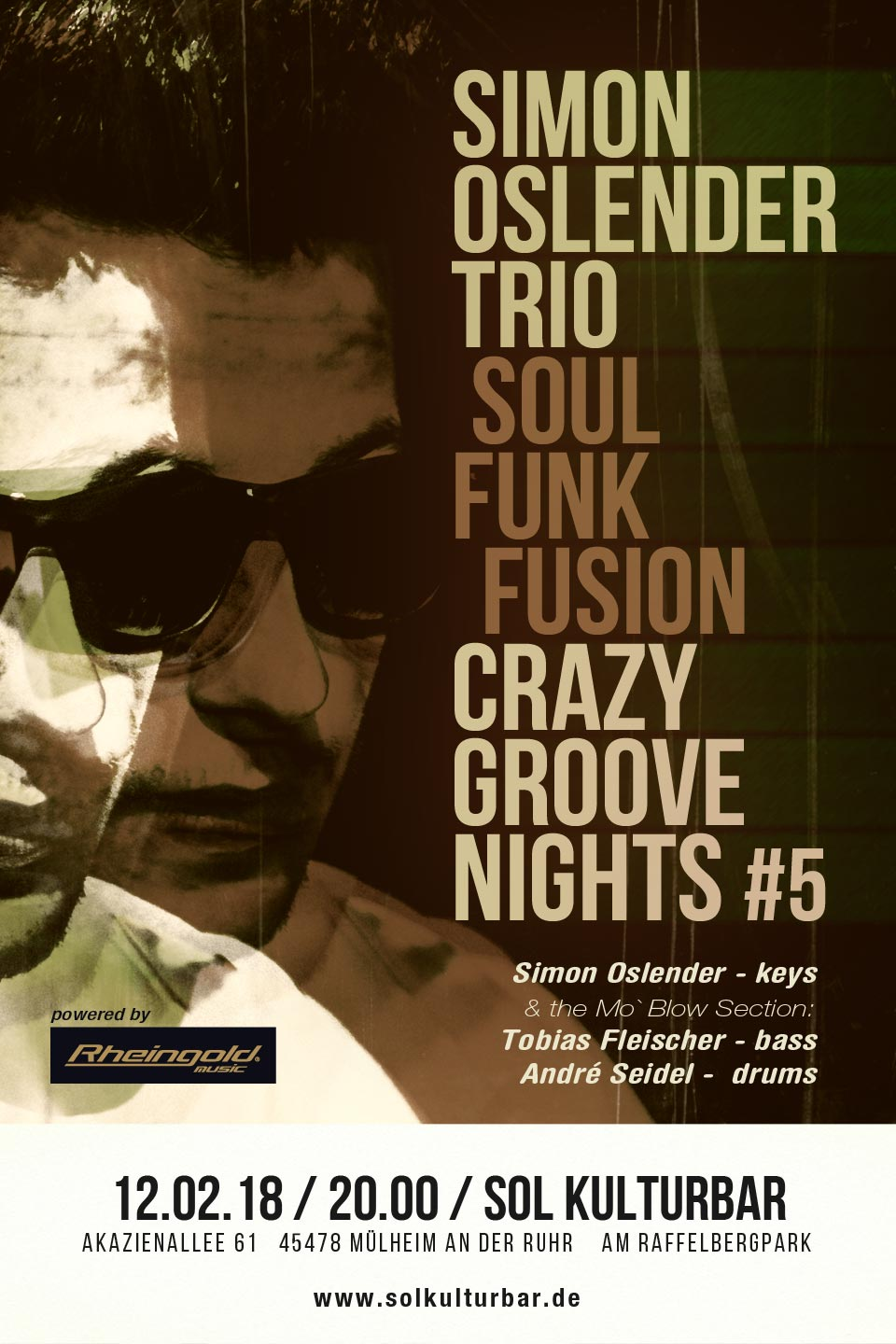 Simon Oslender Crazy Groove Nights #5