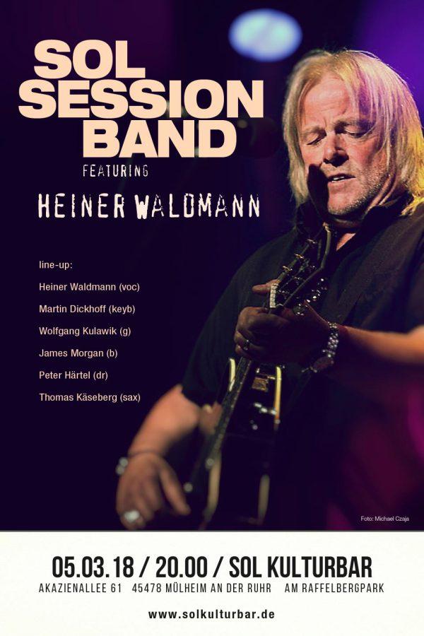 März 2018, Sol Session Band feat. Heiner Waldmann
