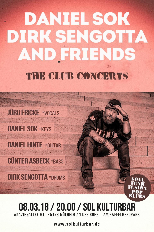 März 2018, Daniel Sok / Dirk Sengotta & Friends, Sol Kulturbar
