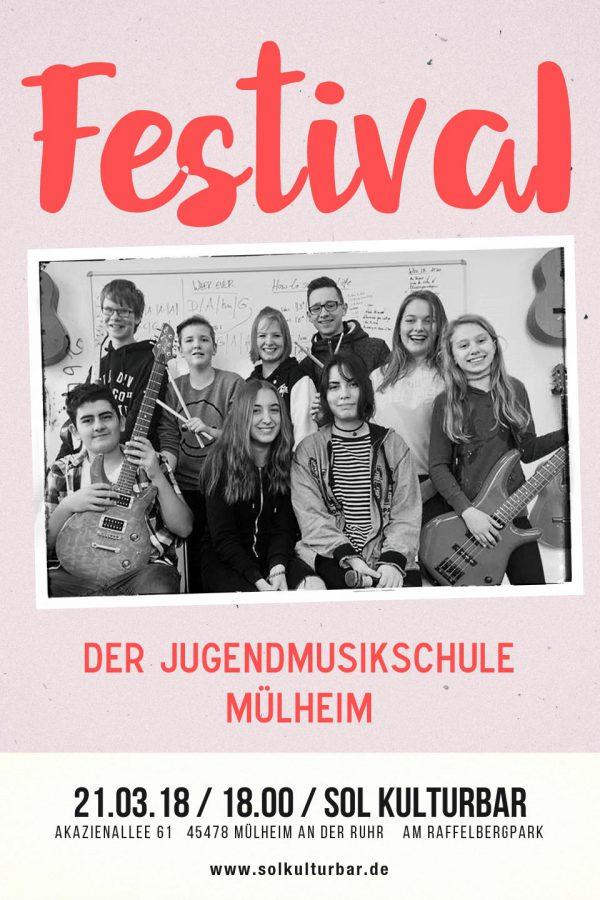 März 2018 Festival der Musikschule Mülheim, Sol Kulturbar