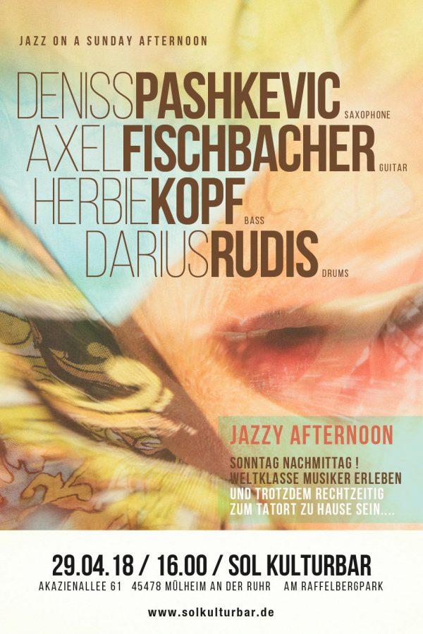 April 2018, Plakat Sol Kulturbar