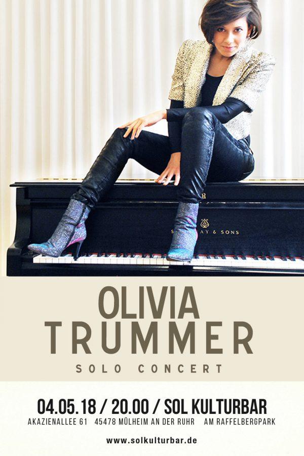 Mai 2018 Olivia Trümmer, Konzert Sol Kulturbar