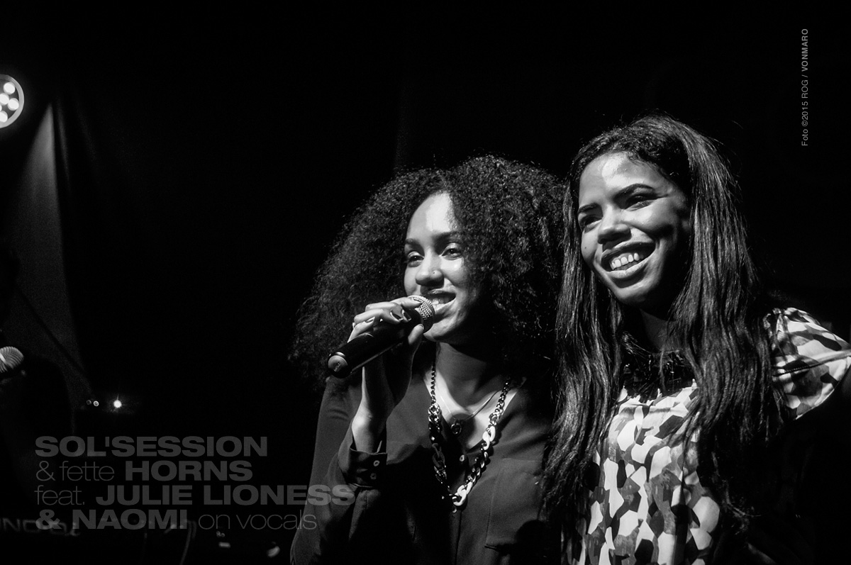 Sol Session feat. Julie Lioness, Naomi Khimji