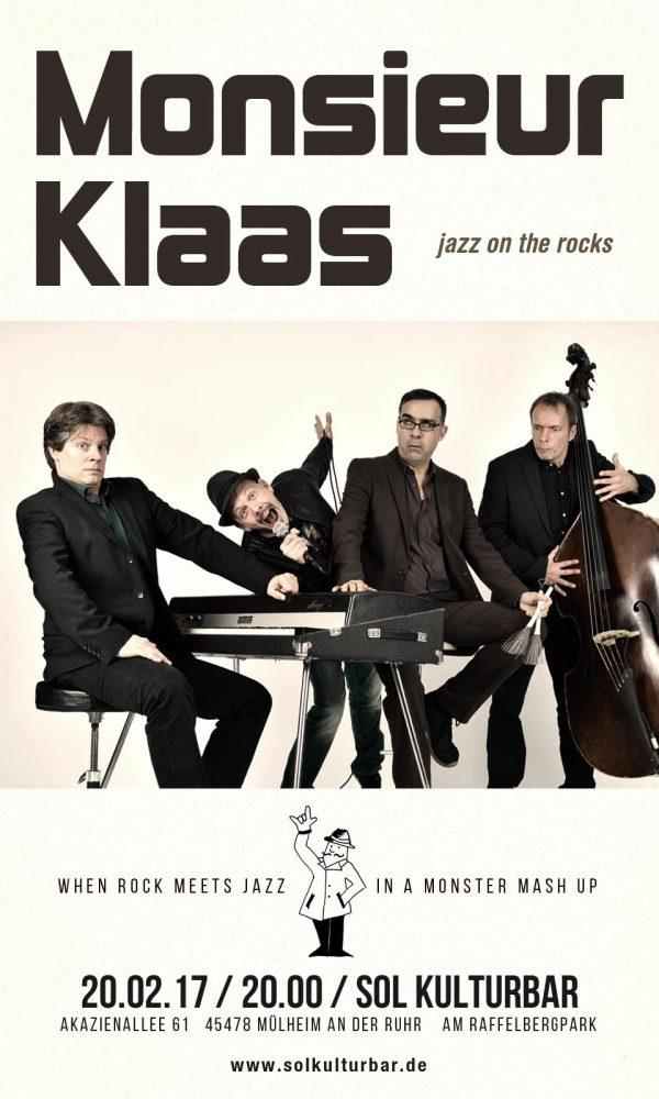 Monsieur Klaas live in der Sol Kulturbar