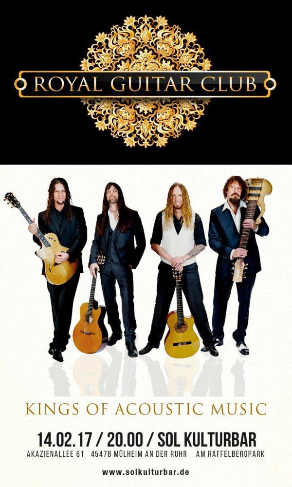 Royal Guitar Club live in der Sol Kulturbar